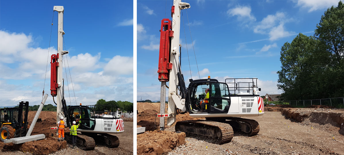 JX Piling Rig
