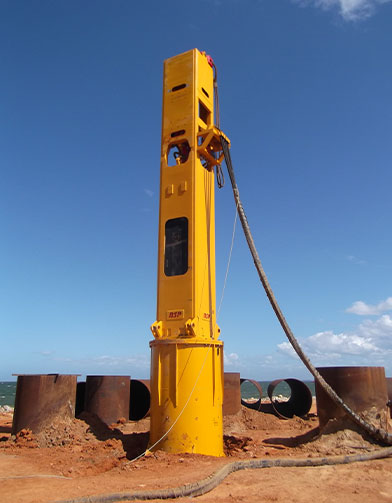 CGL HYDRAULIC PILE DRIVING