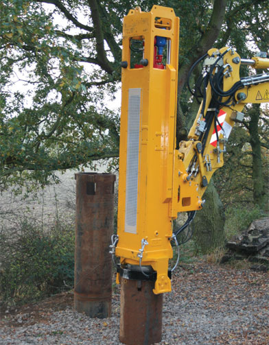 DX HYDRAULIC PILE DRIVER