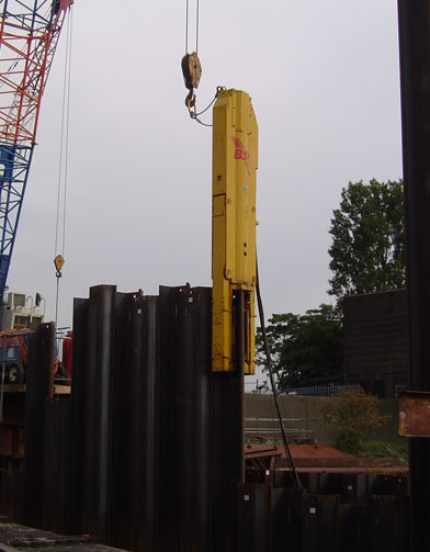 SL Piling Driver